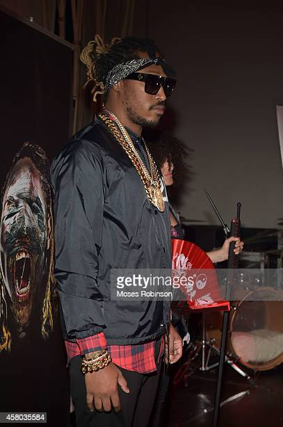Future attends his Monster Mixtape Release Party at Tree Sounds Studios on October 28 2014 in Norcross Georgia