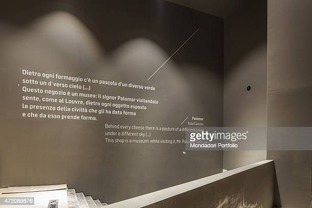 'Future Food District 21st Century Italy Lombardy Milan Expo 2015 Detail interior A pavilion built for Expo Milano 2015 ''Feeding the Planet Energy...