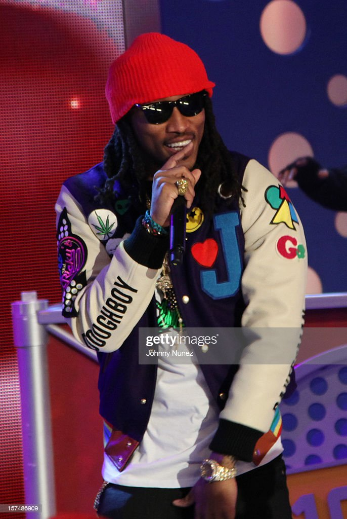 Future performs at 106 & Park Studio on December 3, 2012 in New York City.
