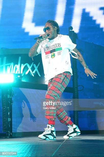 Future performs in concert during his Future Hndrxx tour at Austin360 Amphitheater on June 23 2017 in Austin Texas
