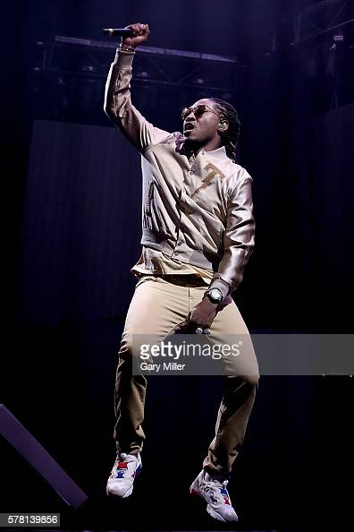 Future performs in concert on the opening night of the Summer Sixteen Tour with Drake at The Frank Erwin Center on July 20 2016 in Austin Texas