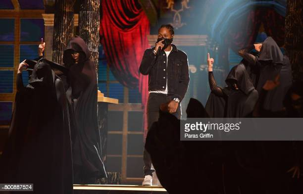 Future performs onstage at 2017 BET Awards at Microsoft Theater on June 25 2017 in Los Angeles California