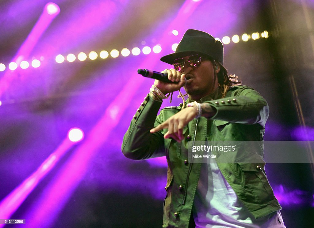 Future performs onstage at EpicFest 2016 hosted by L.A. Reid and Epic Records at Sony Studios on June 25, 2016 in Los Angeles, California.