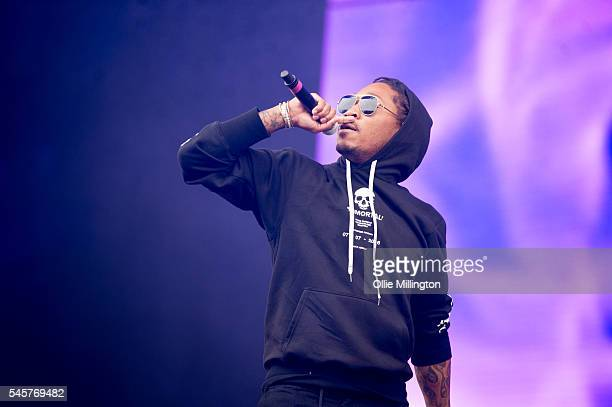 Future performs onstage during Day 2 of Wireless Festival 2016 at Finsbury Park on July 9 2016 in London England