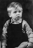 Future Rolling Stones guitarist Brian Jones as a young boy circa 1944