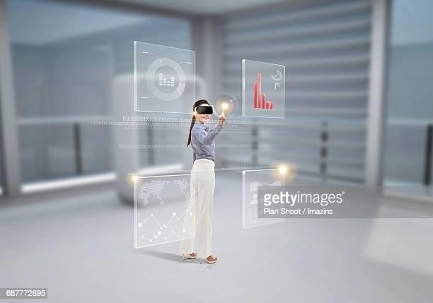 Future Virtual Reality Presentation Layout Technology