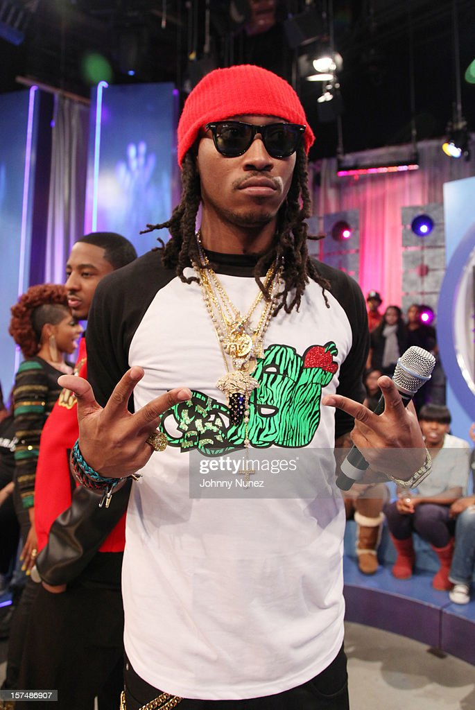 Future visits at 106 & Park Studio on December 3, 2012 in New York City.