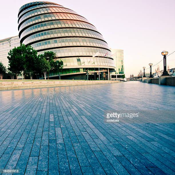 Futuristic Architecture Palace, City Hall in London