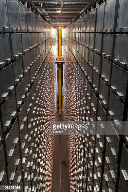 Futuristic Automated Library Sorting System and Storage
