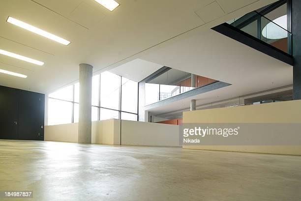 Le bâtiment futuriste