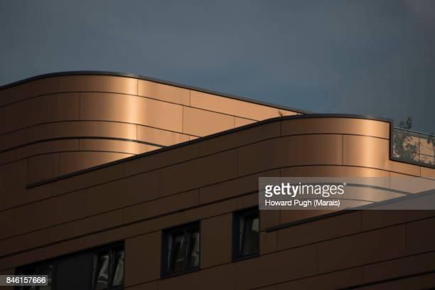 Futuristic Design: Golden Architecture