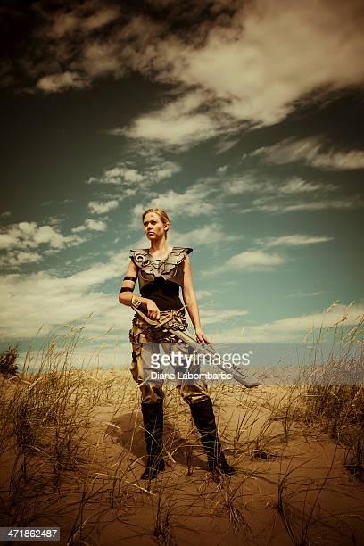Futuriste femme Gladiateur