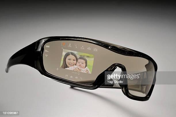 Futuristic glasses Phone