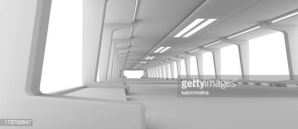 Futuristische Korridor