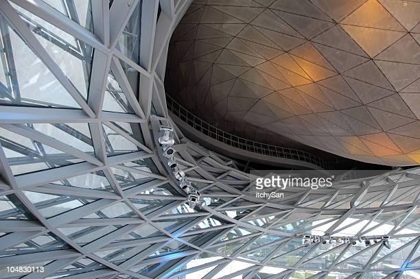 Futuristische Innen-design