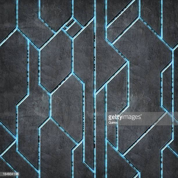 Futuristische Metall Textur