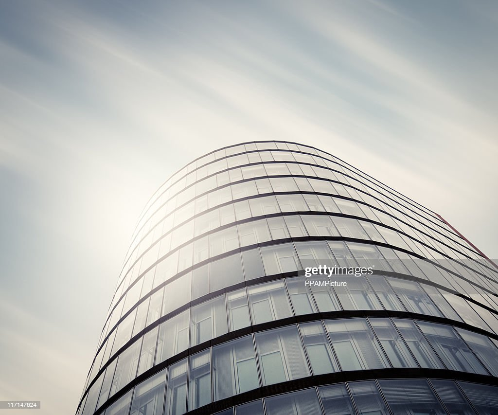 Futuristic office building : Stock Photo