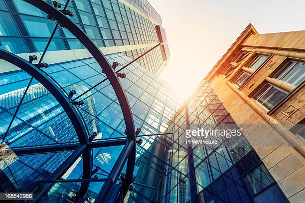 Futuristische office building