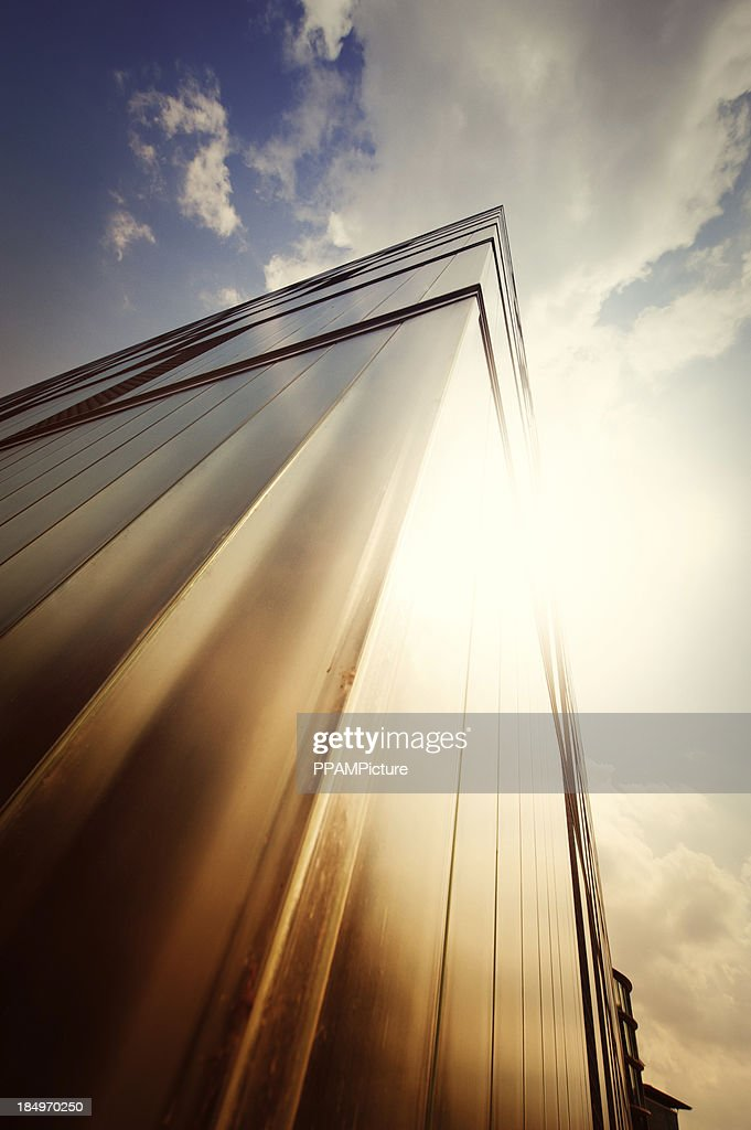 Futuristic office building : Stock Photo