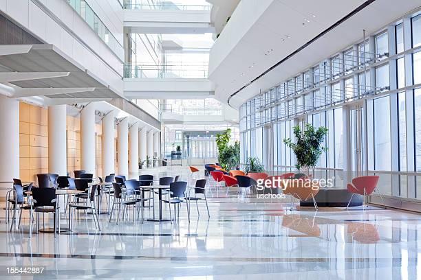 Futuristic Office Lobby
