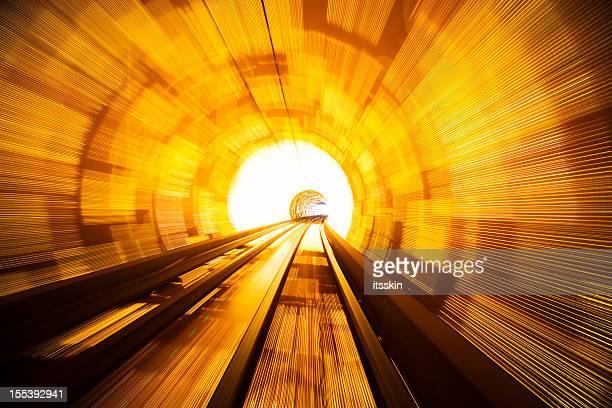 Futuristic railroad