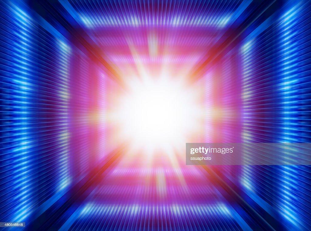 futuristic  tunnel : Stock Photo