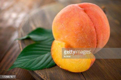 Fuzzy Organic Peach
