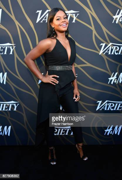 Gabby Douglas attends Variety Power of Young Hollywood at TAO Hollywood on August 8 2017 in Los Angeles California