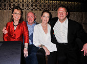 Gabby Giffords Mark Kelly Paige Fertitta and Tilman J Fertitta Chairman and Owner of Landry's INC attends the Grand Opening Celebration of Mastro's...