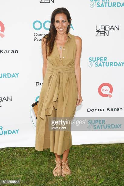 Gabby Karan de Felice attends OCRFA's 20th Annual Super Saturday to Benefit Ovarian Cancer on July 29 2017 in Watermill New York
