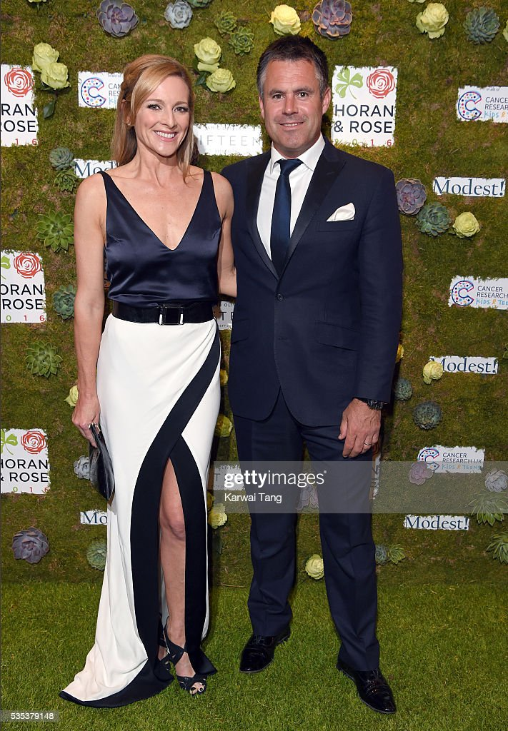 <a gi-track='captionPersonalityLinkClicked' href=/galleries/search?phrase=Gabby+Logan&family=editorial&specificpeople=706152 ng-click='$event.stopPropagation()'>Gabby Logan</a> and <a gi-track='captionPersonalityLinkClicked' href=/galleries/search?phrase=Kenny+Logan&family=editorial&specificpeople=226713 ng-click='$event.stopPropagation()'>Kenny Logan</a> arrive for The Horan And Rose event at The Grove on May 29, 2016 in Watford, England.