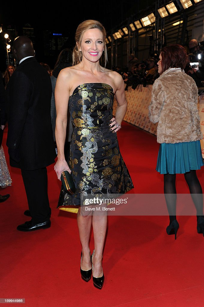 Gabby Logan attends the the National Television Awards at 02 Arena on January 23, 2013 in London, England.