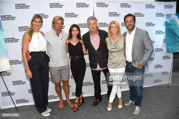 Gabby Reece Laird Hamilton Hilaria Baldwin Alec Baldwin Rory Kennedy and writer Mark Bailey attend The Hamptons International Film Festival...