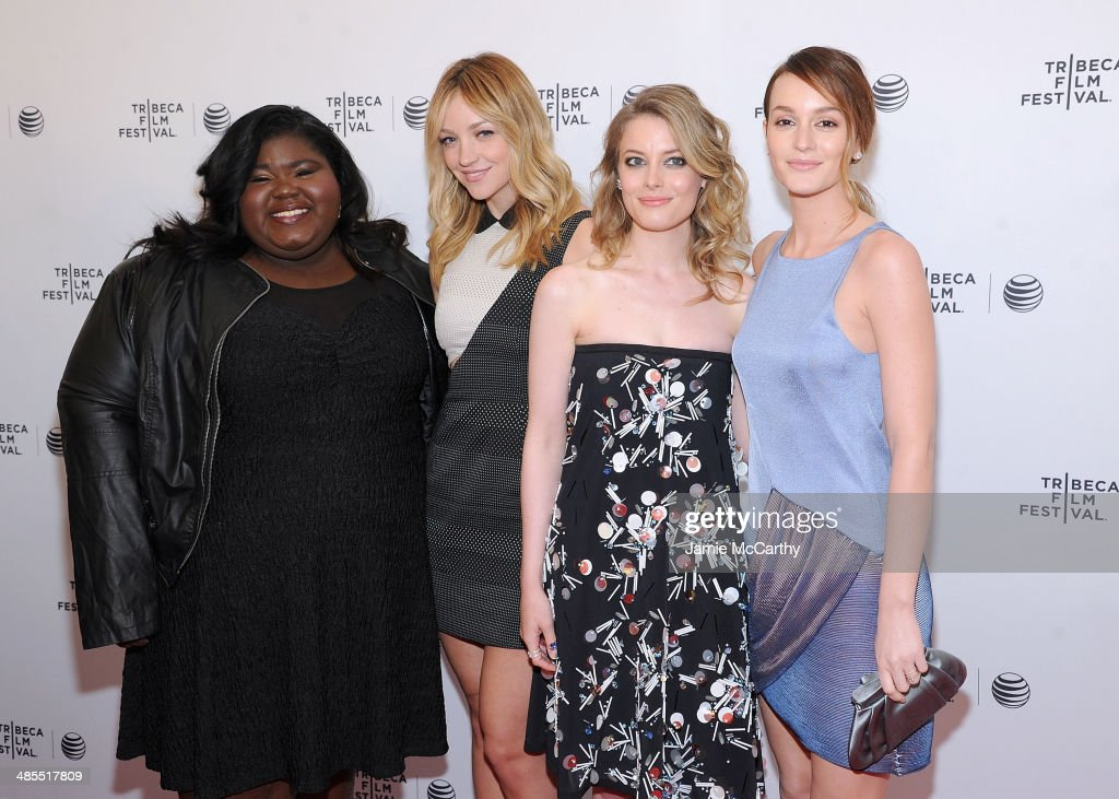 Gabby Sidibe, Abby Elliot, Gillian Jacob and Leighton Meester attend the 'Life Partners' screening during the 2014 Tribeca Film Festival at SVA Theater on April 18, 2014 in New York City.