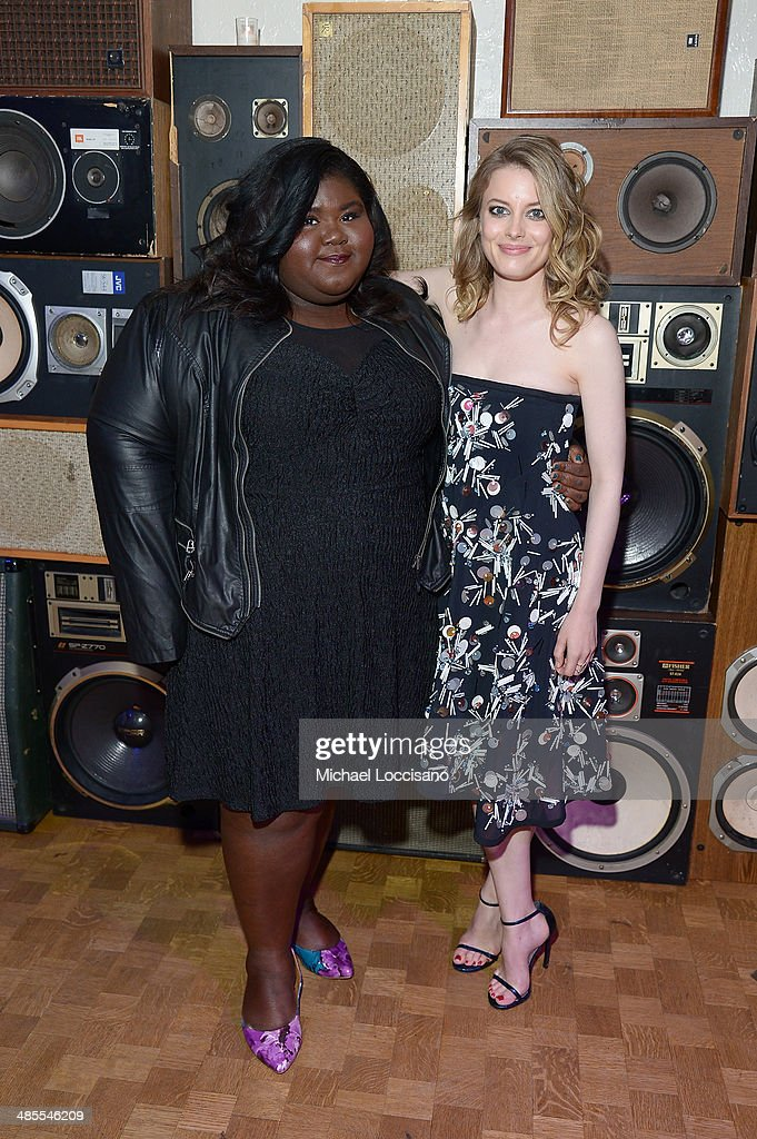Gabby Sidibe and <a gi-track='captionPersonalityLinkClicked' href=/galleries/search?phrase=Gillian+Jacobs&family=editorial&specificpeople=4836757 ng-click='$event.stopPropagation()'>Gillian Jacobs</a> attend the 'Life Partners' Premiere after party during the 2014 Tribeca Film Festival at Liberty Hall on April 18, 2014 in New York City.