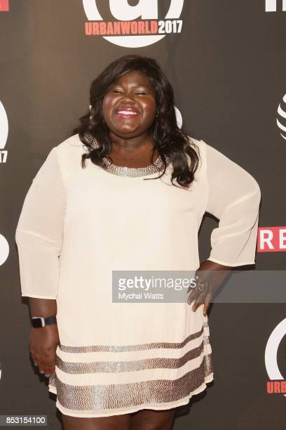 Gabby Sidibe attends the 21st Annual Urban Film Festival at AMC Empire 25 theater on September 23 2017 in New York City