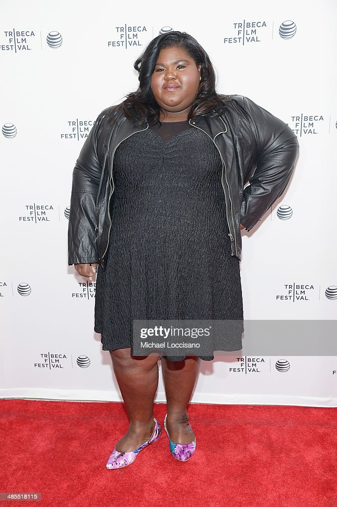 Gabby Sidibe attends the 'Life Partners' premiere during the 2014 Tribeca Film Festival at SVA Theater on April 18, 2014 in New York City.