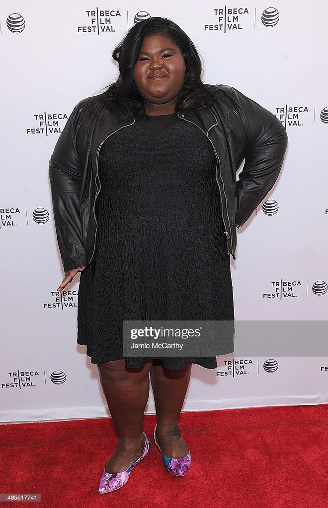 Gabby Sidibe attends the 'Life Partners' screening during the 2014 Tribeca Film Festival at SVA Theater on April 18, 2014 in New York City.