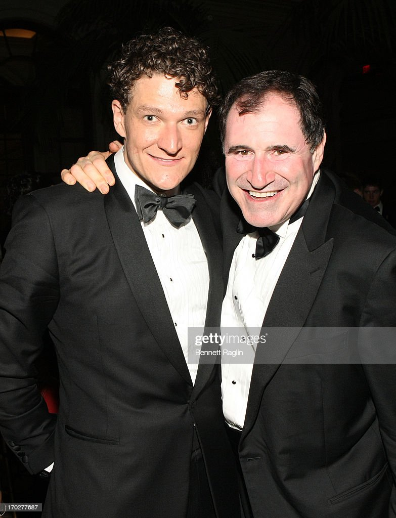 Gabe Ebert and <a gi-track='captionPersonalityLinkClicked' href=/galleries/search?phrase=Richard+Kind&family=editorial&specificpeople=216578 ng-click='$event.stopPropagation()'>Richard Kind</a> attend the 2013 Tony Awards - Gala at The Plaza Hotel on June 9, 2013 in New York City.