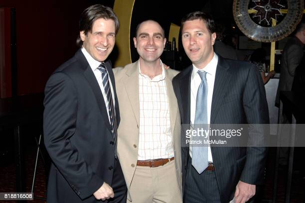 Gabe Jacobson Jeremy Rosen and Evan Raine attend LITERACY ASSOCIATES Second Annual Benefit for LITERACY PARTNERS at Carnival on April 27 2010 in New...