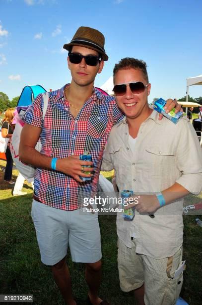 Gabe Saporta and Matt Levine attend Donna Karan Ariel Foxman InStyle Along With Kelly Ripa Ashley Greene Present Super Saturday 13 at Nova's Ark...