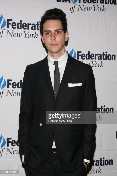 Gabe Saporta attends UJAFEDERATION OF NEW YORK honors JULIE GREENWALD and CRAIG KALLMAN with The Music Visionary of the Year Award at The Pierre on...