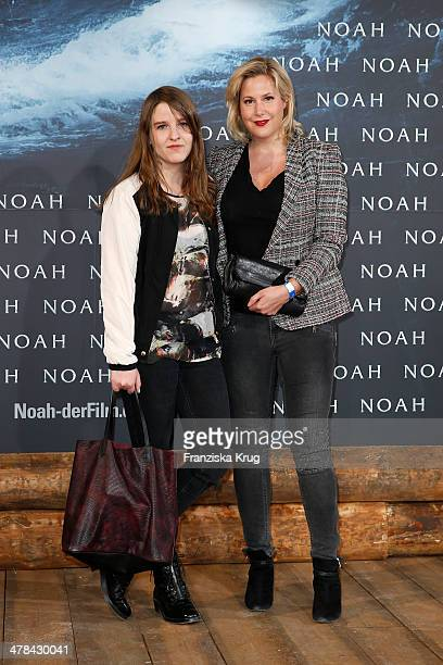 Gabi Decker and her daughter Paula Decker attend the 'Noah' Germany Premiere at Zoo Palast on March 13 2014 in Berlin Germany