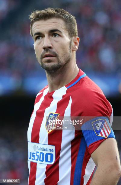 Gabi Fernandez Arenas of Atletico Madrid during the UEFA Champions League Semi Final second leg match between Club Atletico de Madrid and Real Madrid...