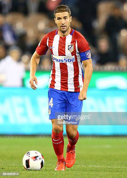Gabi of Atletico de Madrid controls the ball during 2016 International Champions Cup Australia match between Tottenham Hotspur and Atletico de Madrid...