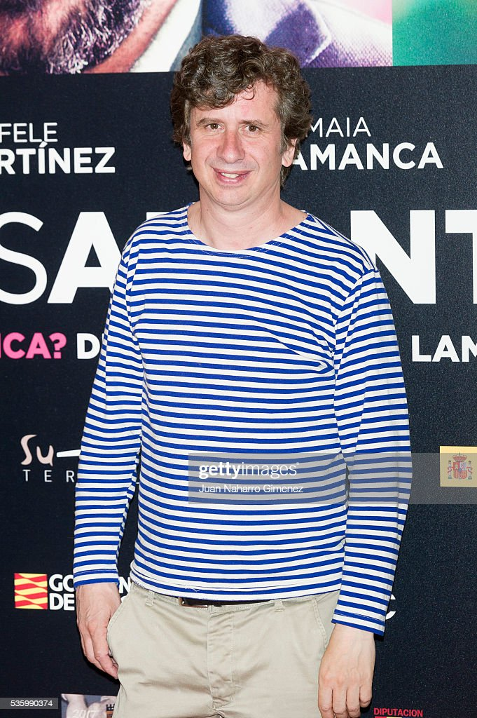 Gabino Diego attends 'Nuestros Amantes' photocall at Palafox Cinema on May 31, 2016 in Madrid, Spain.