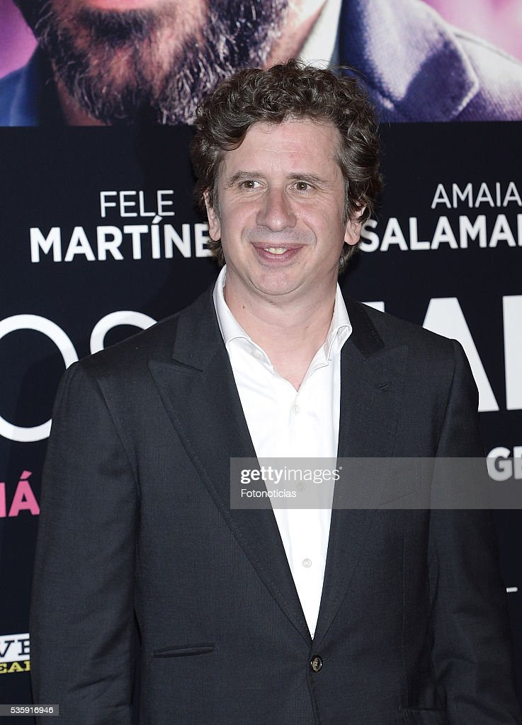 Gabino Diego attends the 'Nuestros Amantes' premiere at Palafox cinema on May 30, 2016 in Madrid, Spain.