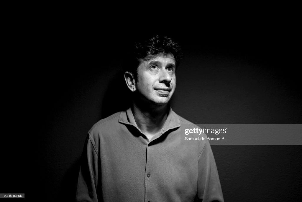 Gabino Diego Portrait Session on September 1, 2017 in Madrid, Spain.