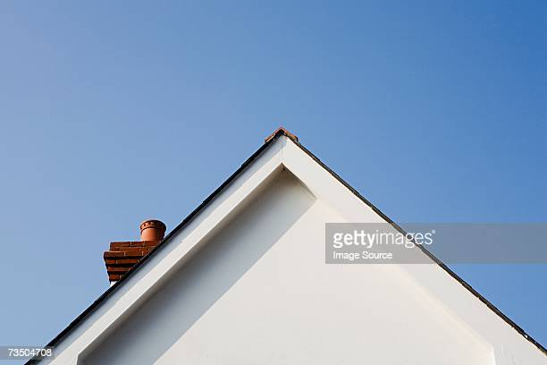 Gable of a house