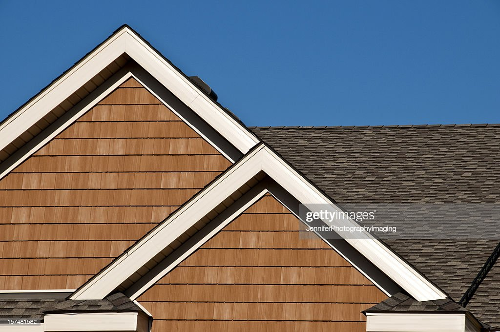Gables And Roof Line : Stock Photo